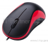 Мышь Oklick 115S for Notebooks Black/Red Optical 1000DPI USB