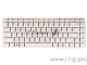 Клавиатура [HP Pavilion DM4-1000, DV5-2000, DV5-2100] [597911-001] White, No Frame, гор. Enter